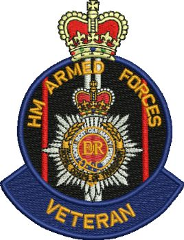 RCT Veteran Embroidered Badge